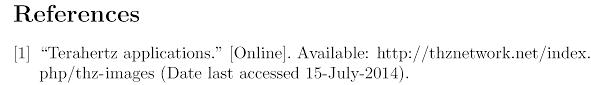 Ieeetran Bibtex Format For Url Reference Tex Latex Stack Exchange