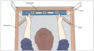 installing a door frame how