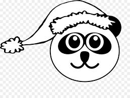 frosty the snowman clipart black and white. Modren White Giant Panda Santa Claus Red Bear Clip Art  Frosty The Snowman Clipart On Black And White I