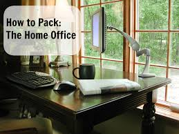 home office items. How To Pack The Home Office Items I