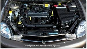 chrysler plymouth dodge neon plymouth neon engine