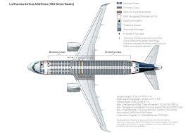 Seat Map A320 200 Lufthansa Magazin
