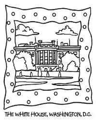 Small Picture Houses to Color and Print for adults about white house coloring