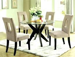 glass round dining table dining tables outstanding round glass dining table and chairs glass top dining