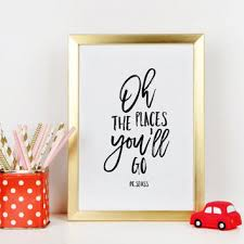dr seuss oh the places you ll go inspirational quote nursery wal on dr seuss oh the places youll go wall art with best oh the places you will go wall art products on wanelo