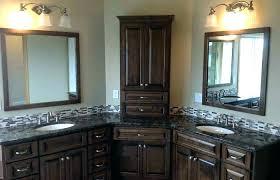 corner double vanity sink bathroom basin with two sinks corner double vanity