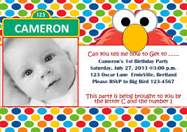 elmo 1st birthday invitations by created your birthday invitation cards invitation card design with divine ornaments 12
