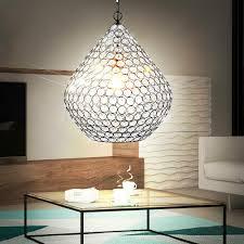Kristall Pendel W 10 Led Kugel Lampe Hänge Esszimmer Messing