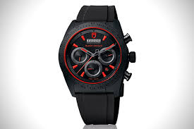 black out 21 best all black watches for men hiconsumption tudor fastrider watch