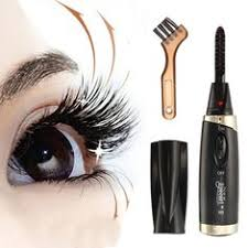 heated eyelash curler results. portable electric heating eyelash curved extension brush curler heated results l