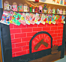 gingerbread house bulletin board ideas. Plain Board Fireplace Bulletin Boardu2013 This Bulletin Board Has A Fireplace Made Out Of  Paper And Stockings That The Kids Made For Gingerbread House Board Ideas O