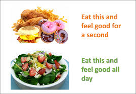 junk food vs healthy food.  Food But Does Junk Food Do Any Good To Us It May Satisfy Our Taste Buds And Fix  Hunger Pangs Certain Extent But What About The Pounds Of Fat That Is  On Junk Food Vs Healthy