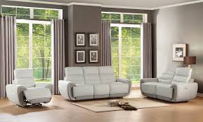 Top Grain Leather Living Room Set Leather Power Reclining Living Room Sets Living Room Design Ideas