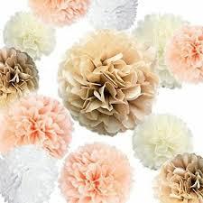 Tissue Paper Pom Poms Flower Balls Tissue Paper Pompoms Pom Poms Flower Balls Fluffy Wedding