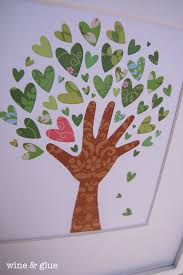 Family Tree Design In Illustration Board 25 Valentines Day Home Decor Ideas Crafts For Kids