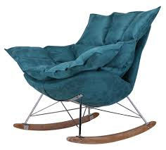 Rocking Chair Modern european style fabric recliner chair modern rocking chair luxury 4921 by guidejewelry.us