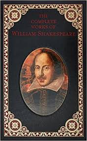 william shakespeare s works amazon com complete works of william shakespeare leatherbound