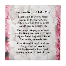 Quotes About Being An Aunt Gorgeous Aunt Poems And Quotes Textpoemsorg