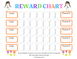 Reward Chart For 2 Year Old 20 Free Printable Chore Charts