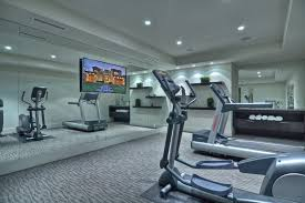 home gym lighting. television mirrors home gym contemporary with mirrored wall flush lighting k