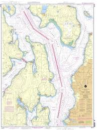 Noaa Chart 18473 Puget Sound Oak Bay To Shilshole Bay