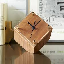 awesome mid century desk clock west elm for modern desk clock ordinary
