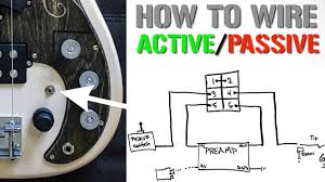 j bass passive wiring diagram wiring diagram technic how to wire an active passive bypass switch for a bass preamp j bass passive wiring diagram