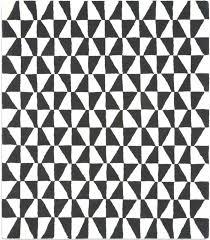 black white rugs zoom metric design triangle the rug retailer geometric plant