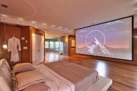 projector in bedroom. miami bed with tv in bedroom contemporary projector screen turkish cotton bathrobes platform