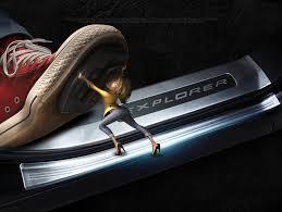 <b>Накладки на пороги полный</b> комплект CHN для Ford Explorer 2015 -