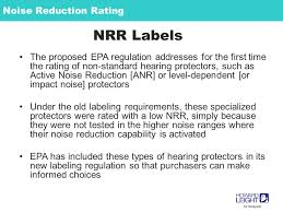 Noise Reduction Rating Nrr Theresa Y Schulz Phd Ltcol