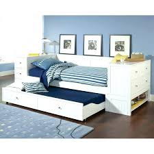 white wooden daybed with trundle by coaster furniture storage amp end chest d white wood daybed