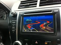 Navigation System for Toyota CAMRY (with APPS Radio) - CybCar ...