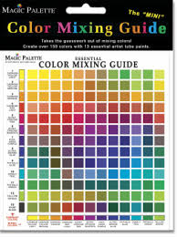 Black Color Mixing Chart Home Page