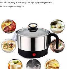 Gia đụng MINI] Nồi lẩu điện Happy Call tiện lợi cho mọi nhà, Ca nấu mỳ,  Luộc trứng, đun nước Happy Call , nhỏ gọn tiện dụng văn phòng