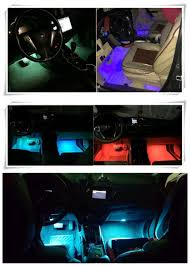Ford Ka Interior Light Problem Us 15 56 13 Off New Style Car Styling Led Strip Lights With Remote Stickers For Ford Focus 2 3 Fiesta C Max Ka Galaxy Kuga Car Accessories In Car