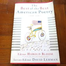 poetry david lehman harold bloom ed
