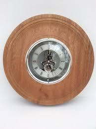 sapele skeleton clock wall clock large