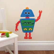 robot wall sticker robot decal robot robot wall art robot decoration  on robot nursery wall art with personalised robot wall sticker chameleon wall art