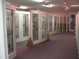 door glass showroom add decorative door glass inserts