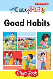 Good Habits Chart For School Amazon In Buy Cut Paste Good Habits Chart Book Book