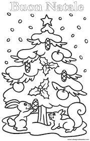 Disegni Di Natale Scoiattoli