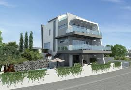 Small Picture Modern stylish latest homes exterior designs Cyprus House Plan 5