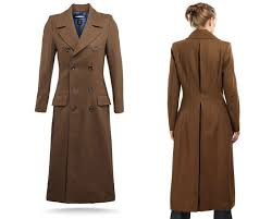 tired of playing the tenth doctor in a ill fitting trenchcoat no problem las the bbc has released an official tailored doctor who coat so awesome