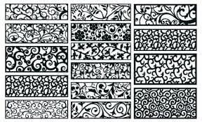 Medieval Patterns Unique Medieval Patterns Pack Stock Vector © Elfwilde 48