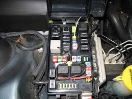 2005 traction control those are the wires i used for fuse 17 if you look closely you can see the 17 fuse laying on it s side
