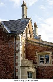 house, architecture, stone, chimney, design, wall, home, - Stock