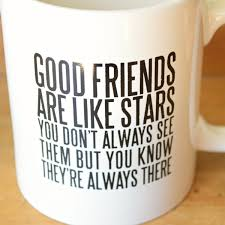 Quotes About Coffee And Friendship Amazing Good Friends Quote Coffee Mug 48 Candles