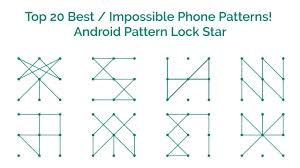 Pattern Lock Extraordinary Top 48 Best Impossible Phone Patterns Android Pattern Lock Star