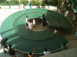 round ping pong table design